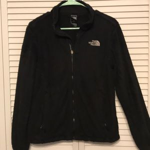 The North Face Black Zip Up Jacket Size M